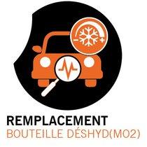Remplacement bouteille déshyd (MO2)