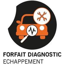 Forfait DIAGNOSTIC ECHAPPEMENT