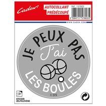 """STICKER-""""JE-PEUX-PAS-J'AI-LES-BOULES""""-157803-CADOX-296248"""