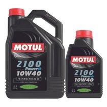 Huile-Motul-2100-Power-10W40-essence-5L-+-1L-51754