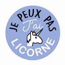 """STICKER-""""JE-PEUX-PAS-J'AI-LICORNE""""-157812-CADOX-296252"""