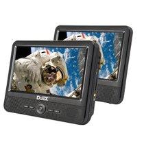 """Lecteur-DVD-9""""-double-écran-D-JIX-PVS-906-50SM+-supports-appui-tête-DJIX-265788"""