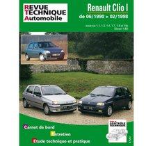 Revue-Technique-Automobile-RENAULT-CLIO-(06-1990-_-08-1998)-100121