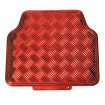Tapis-Caoutchouc-Aluminium-4-pièces-Rouge-60541