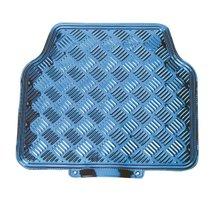 Tapis-Caoutchouc-Aluminium-4-pièces-Bleu-60529