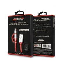 Cà'BLE-MICRO-USB-+-IPHONE-MFI-FERRARI-295461