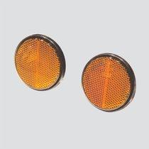 Catadioptre-adhésif-rond-orange-12542