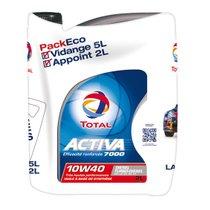 Huile-Total-Activa-7000-10W40-diesel-5L-+-2L-offerts-45390